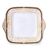Wedgwood - Cornucopia Square Cake Plate
