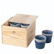 Costa Nova - Grespresso Lungo Cup Denim Set of 8pce