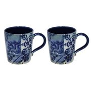 Costa Nova - Lisboa Blue Tile Mug Set 2pce 520ml