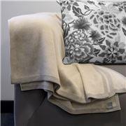 Bemboka - Pure Soft Combed Cotton Throw Sand & Wheat