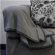 Bemboka - Pure Soft Combed Cotton Throw Charcoal & Grey