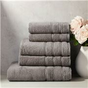 Christy - Antalya Towel Stack Magnet Grey Set 5pce