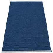 Pappelina - Mono Rug Dark Blue & Denim 85x160cm