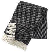 Klippan - Polka Throw Rug Black & White 130x200cm