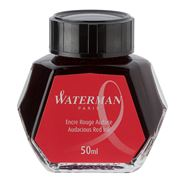 Waterman - Audacious Red Ink Bottle 50ml