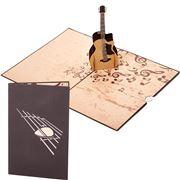 Colorpop - Acoustic Guitar Greeting Card Medium