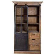 French Country - Sliding Door Cabinet Single