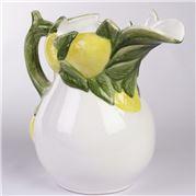 Zanatta - White Jar Of Lemons 28x25.5x17cm