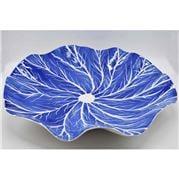 Zanatta - Dutch Blue Water Lily Bowl Large