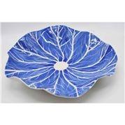 Zanatta - Dutch Blue Water Lily Bowl Small