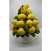 Zanatta - Good Retreat Fruit Bowl Of Lemons & Leaves 56x45cm