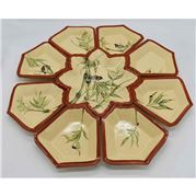 Zanatta - Snack Dish with Bamboo Design XL