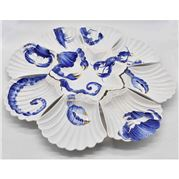 Zanatta - Shell Snack Dish Set w/ Seafood Design