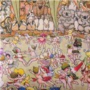 Kip & Co - May Gibbs Bush Dance Cotton Flat Sheet Single