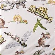 Kip & Co - Desert Daycare Cotton Flat Sheet Single