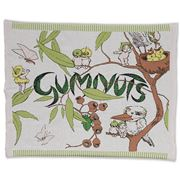 Kip & Co - Gumnuts Knitted Cotton Baby Blanket 80x100cm