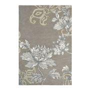Wedgwood - Fabled Floral Grey Large Handmade Rug 280x200cm