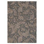 Morris & Co - Bachelors Button Charcoal Floral Rug 240x170cm