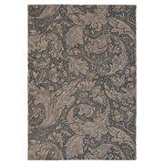 Morris & Co - Bachelors Button Charcoal Floral Rug 280x200cm
