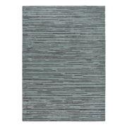 Florence Broadhurst Rug - Slub Charcoal & Blue 240x170cm