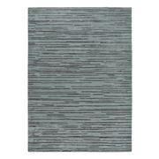 Florence Broadhurst Rug - Slub Charcoal & Blue 280x200cm