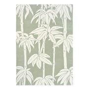 Florence Broadhurst Rug - Bamboo Jade & Off White 280x200cm