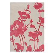 Florence Broadhurst Rug - Poppy & Beige 240x170cm