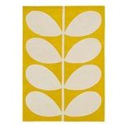 Orla Kiely - Yellow Stem Pure Wool Rug 230x160cm