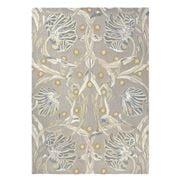 Morris & Co - Pimpernel Linen Textured Floral Rug 280x200cm
