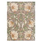 Morris & Co - Pimpernel Aubergine Floral Wool Rug 280x200cm
