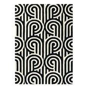 Florence Broadhurst Rug - Turnabouts Black & White 280x200cm