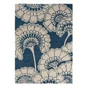Florence Broadhurst Rug - Floral Midnight & Beige 280x200cm