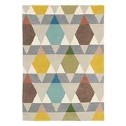 Brink & Campman - Estella Vases Stone Geometric Rug 230x160