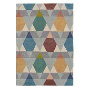 Brink & Campman - Estella Vases Grey Geometric Rug 230x160cm