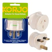 Korjo - Great Britain Adaptor Plug