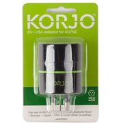 Korjo - Adaptor Euro/USA to Aus/NZ
