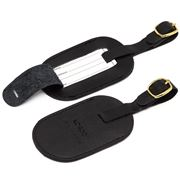 Korjo - Leather Luggage Tags Set 2pce