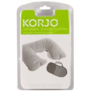 Korjo - Inflatable Snooze Cushion & Sleep Mask Set