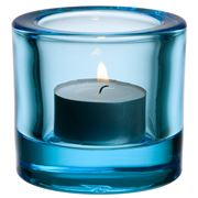 iittala - Kivi Candleholder Light Blue 6cm