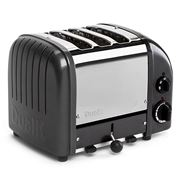 Dualit - Metallic Charcoal 3 Slice Toaster