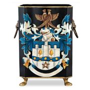 The Enchanted Home - Coat Of Arms Wastepaper Basket