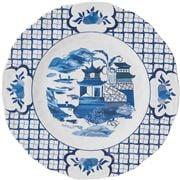 The Enchanted Home - Pagoda Melamine Dinner Plate 28cm