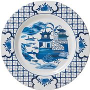 The Enchanted Home - Pagoda Melamine Charger 35cm