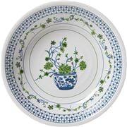 The Enchanted Home - Floral Melamine Serving Bowl 34.5cm