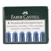 Faber-Castell - Blue Cartridge Set 6pce