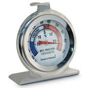 Davis & Waddell - Fridge/Freezer Thermometer Stainless Steel