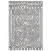 Tapete Rug - Grey & Natural White Scandi Wool Rug 225x155cm