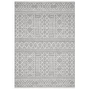 Tapete Rug - Grey & White Wool Textured Rug 280x190cm