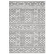 Tapete Rug - Grey & White Wool Textured Rug 320x230cm