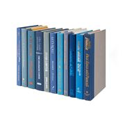 Collectors Library - Books By The Foot Blue